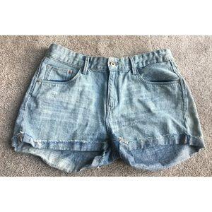 h&m Light Wash Shorts Size 10